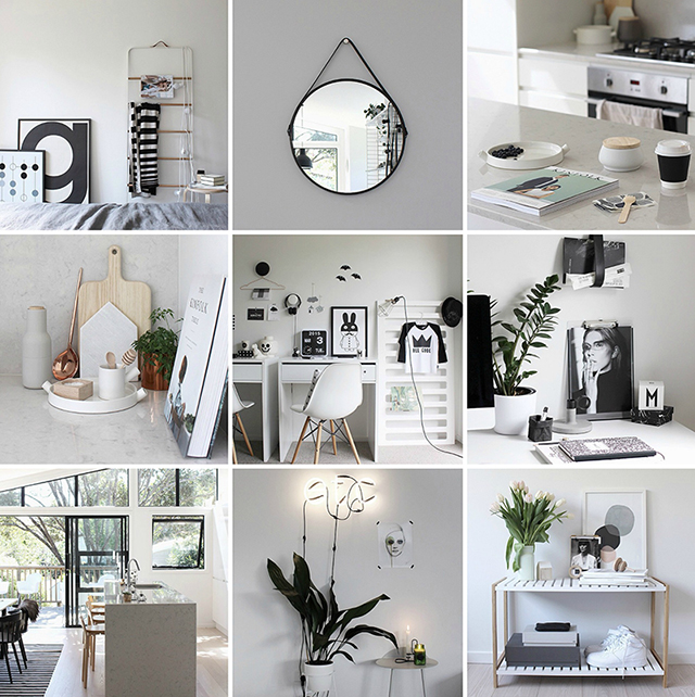 Home Decor Inspiration Sur Instagram Black And White: Ideas + Inspiration