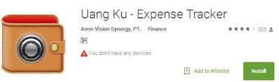 Aplikasi Uang Ku – Expense Tracker