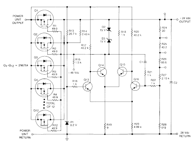 Simple linear Regulator Circuit Diagram