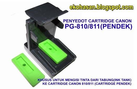 TOOLKIT PENYEDOT CATRIDGE CANON PG810, CL811 ( PENDEK