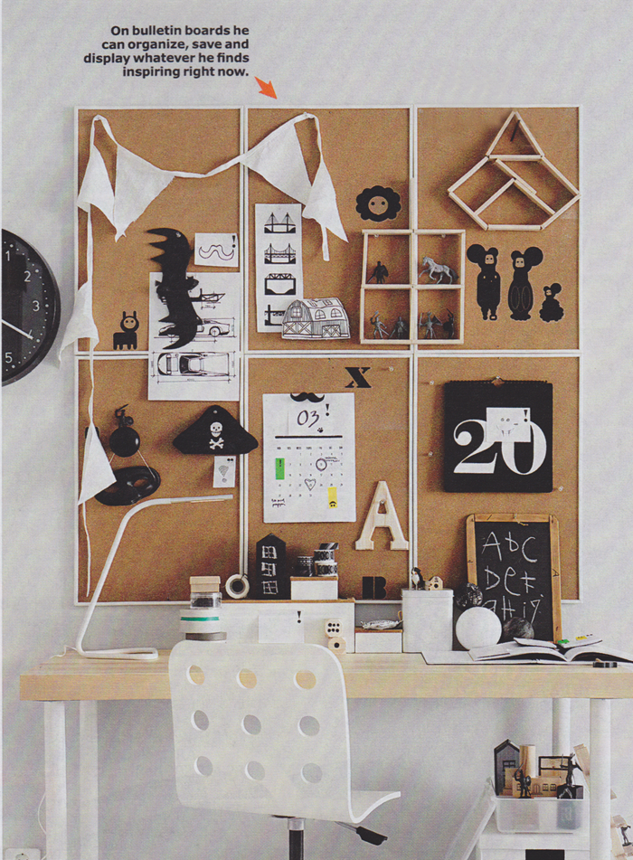 20 cool decorating tricks finds from the 2016 ikea for Ikea cork board
