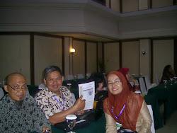 Bersama ketua PB IPKJI Pusat Bapak Supriyanto