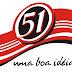 Logo da cachaça 51