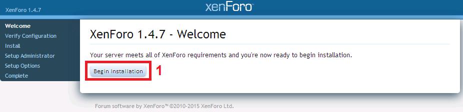 Hướng dẫn cài đặt Xenforo trên host cực dễ dàng