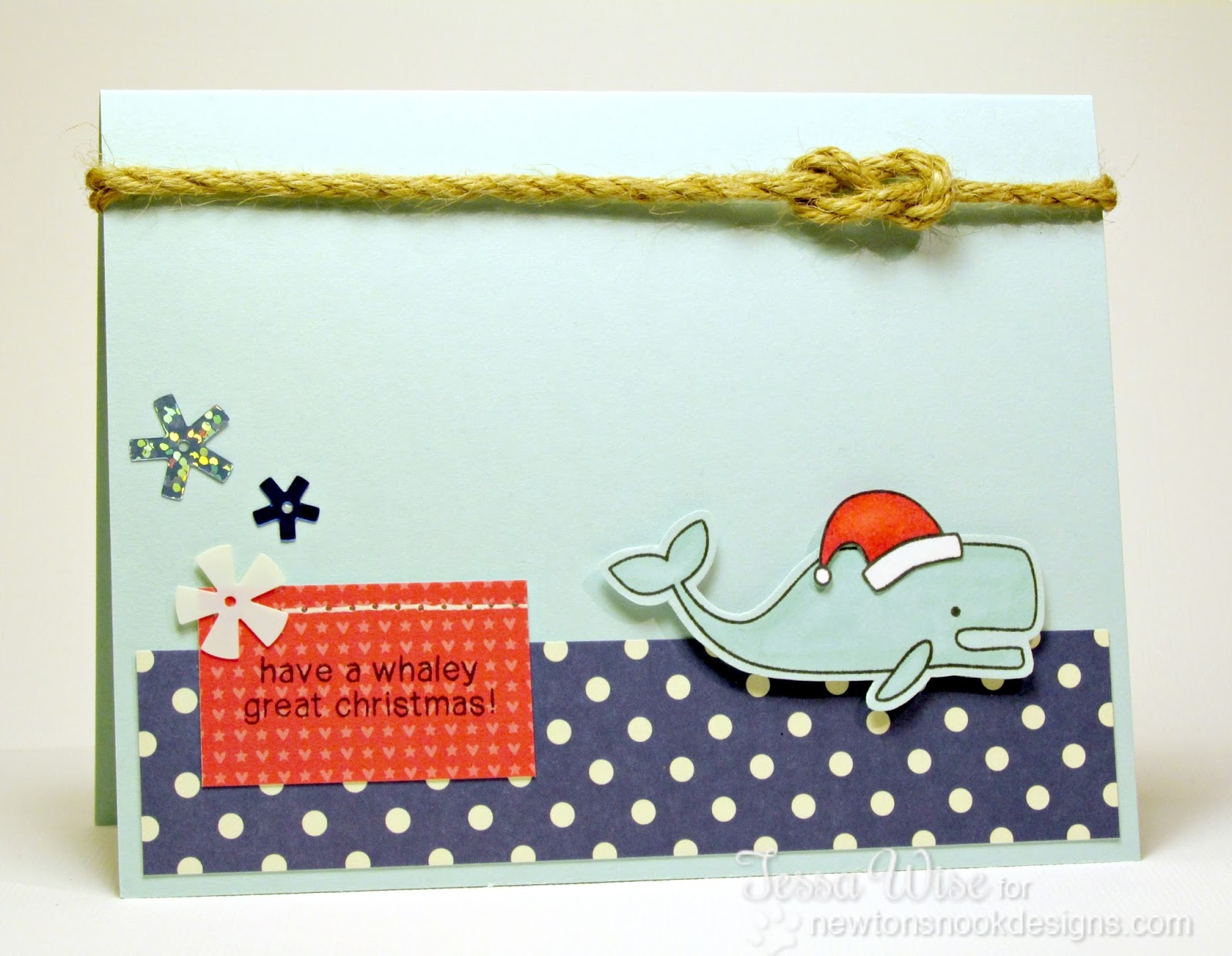 CRAFTY GIRL DESIGNS: A Whaley Great Christmas Card
