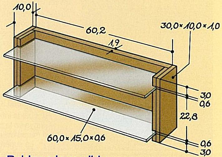 Hacer Estantes Para Baño:Carpintería: Espejo Para el Baño con Estantes