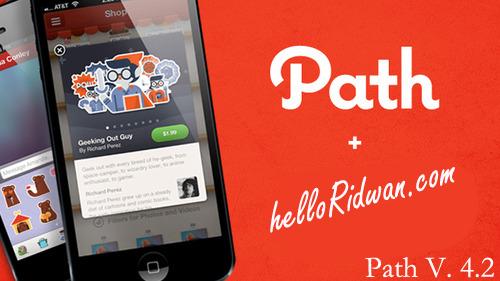 Cara Gratis Sticker Path Versi 4.2 di Android
