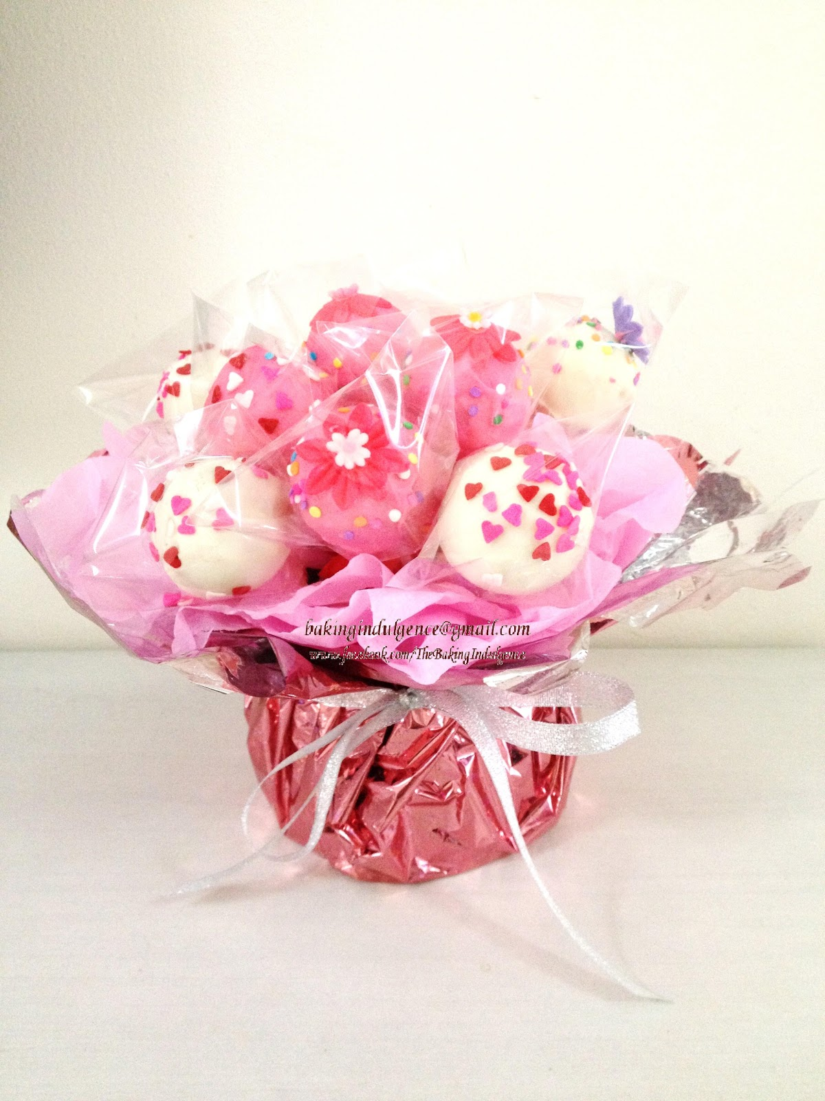 Baking Indulgence Cake Pop Bouquet For Your Love Ones