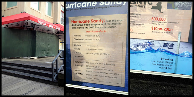 SouthStreetSeaport, Six Months after Super Storm Sandy, NYC