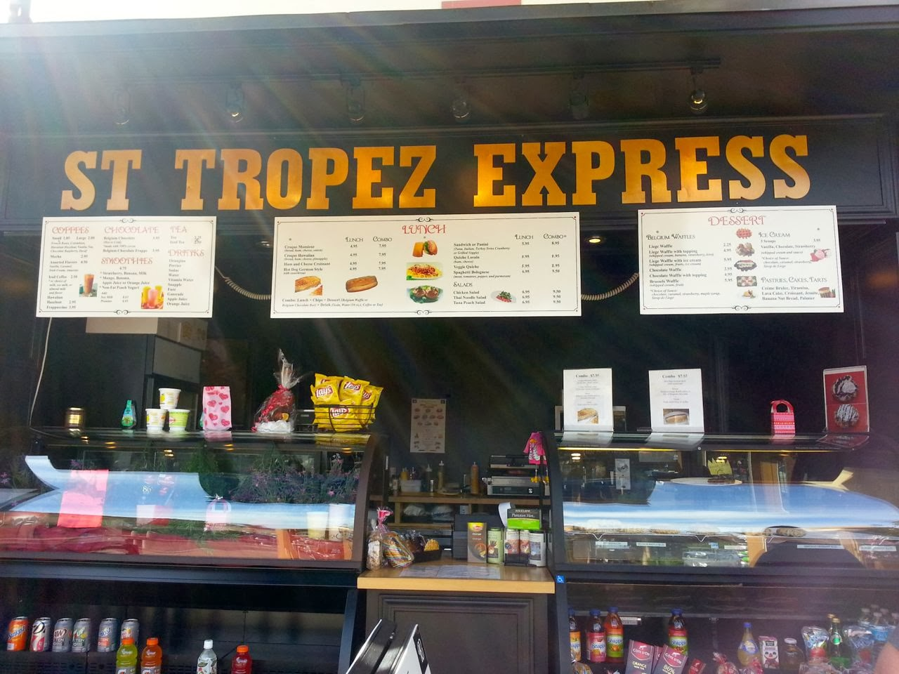 Eat Drink And Be Me St Tropez Express