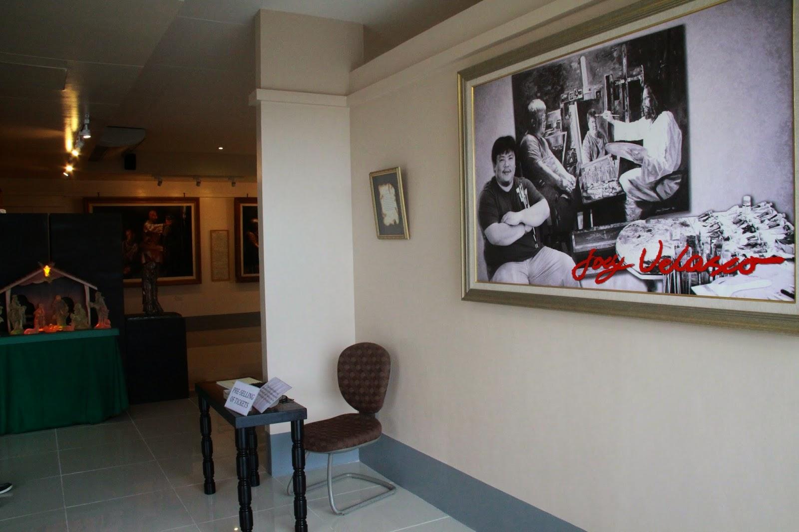 Joey Velasco Gallery entrance