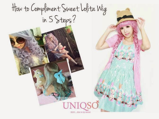 5 Steps: How to Compliment your Sweet Lolita Wig?