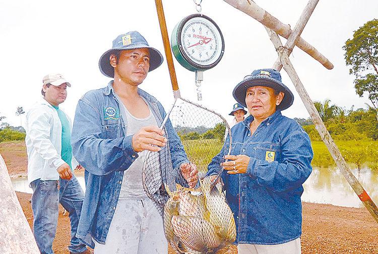 Pesca en Bolivia