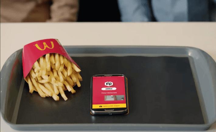 McDonalds, Fry defender