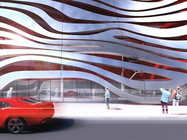 05-Petersen-Automotive-Museo de la capacidad de la renovación por Kohn Pedersen-Fox-