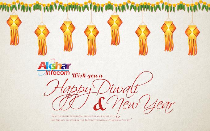 Wish You Happy Diwali & Happy New Year