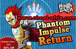 Cheat Special Training Session Phantom 2013 Ninja Saga