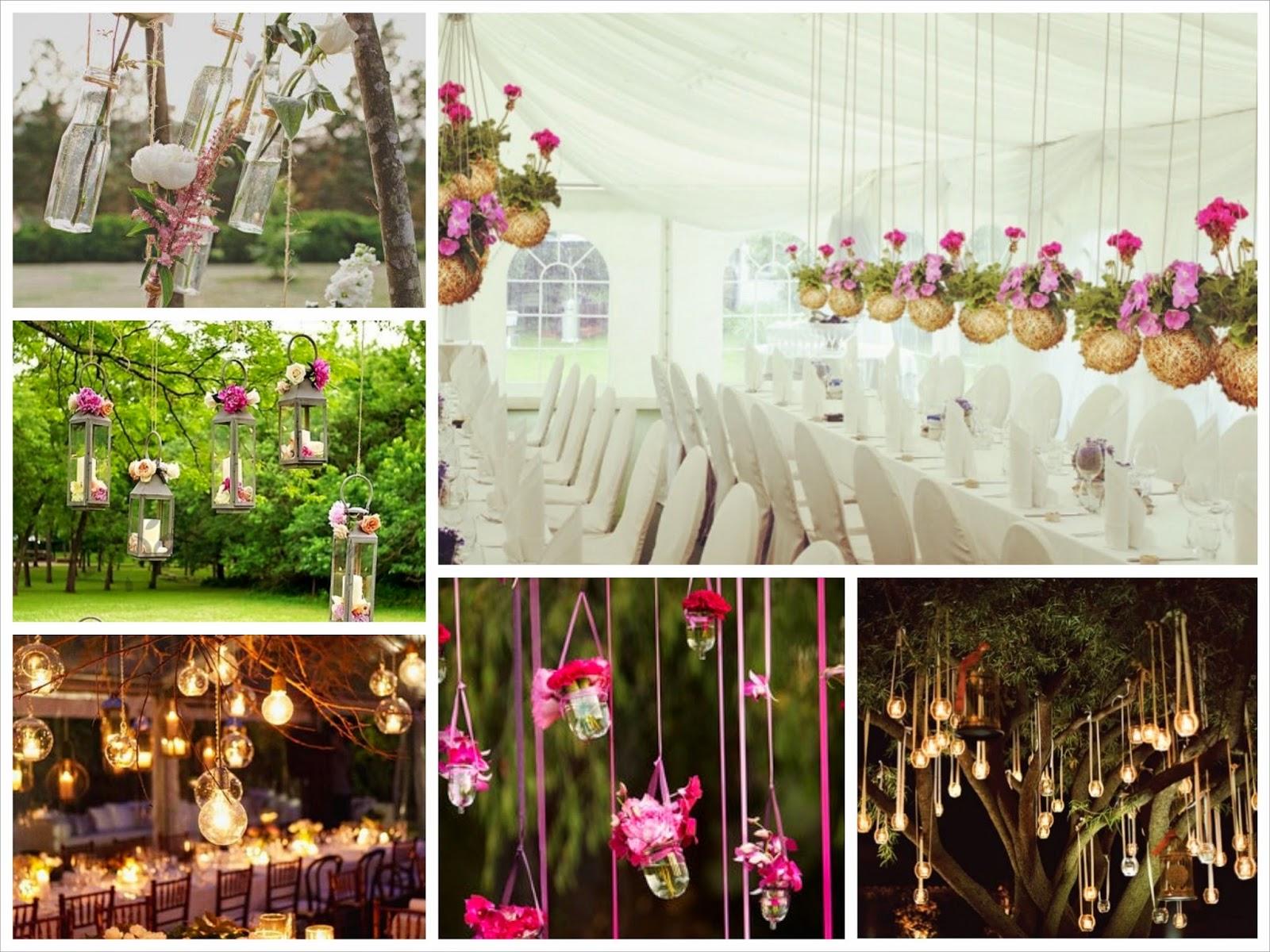 Decoraci n colgante en tu boda sweet bodas for Farolillos de decoracion