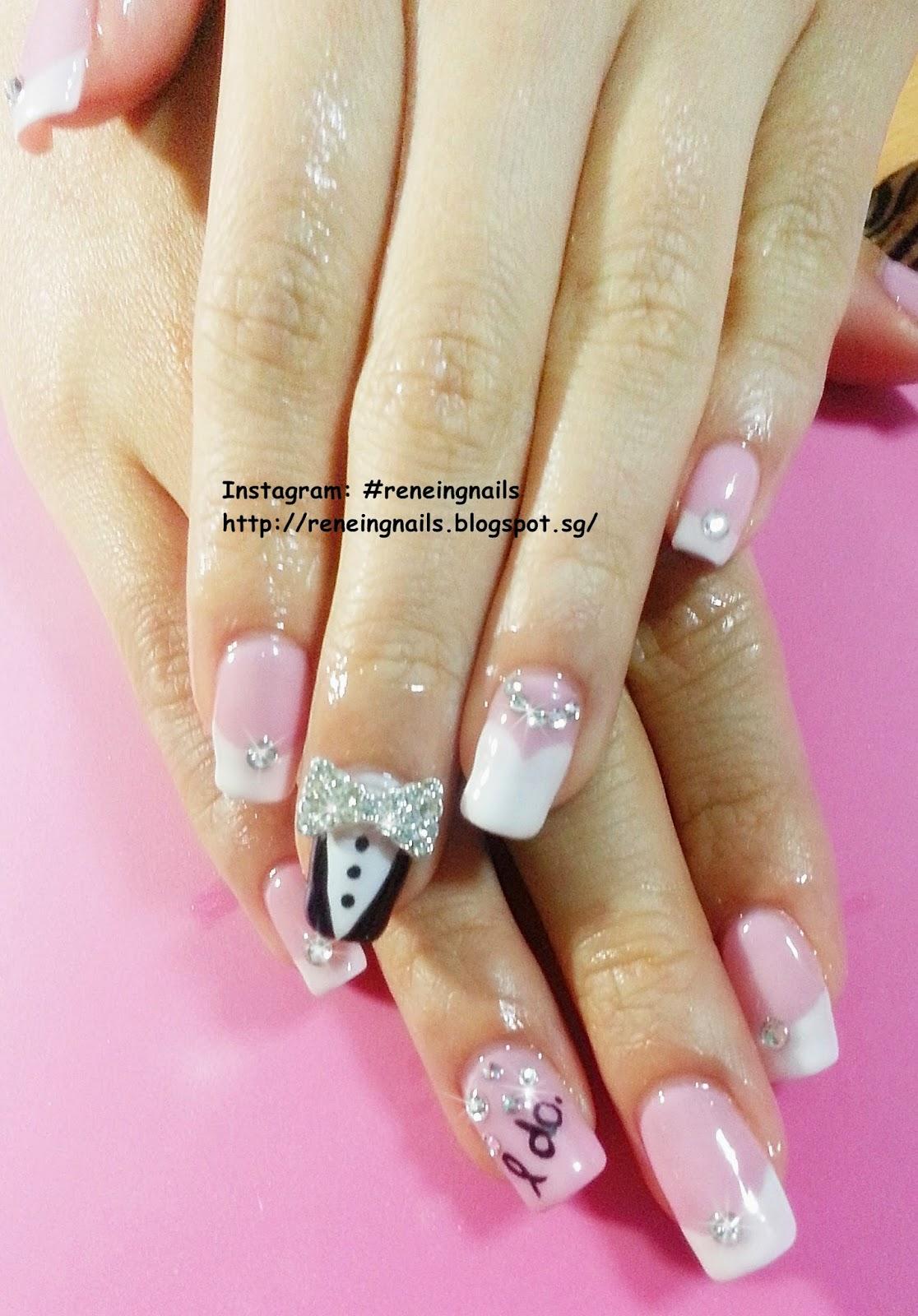 N30650 Peiqing S Wedding Nails Done