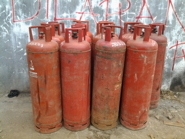 jual tabung gas lpg khusus 50 kg tabung lpg 50 kg susah di cari pada ...
