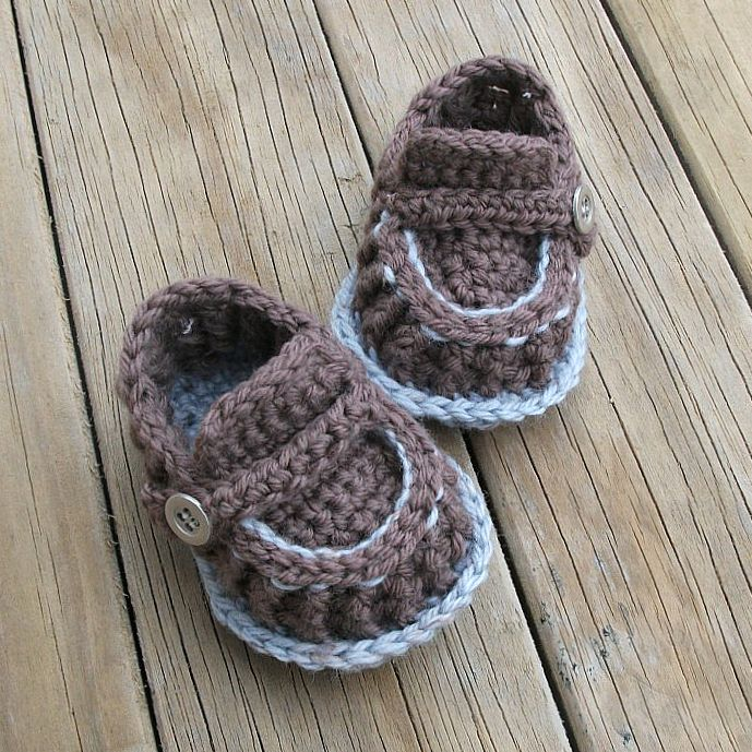 The life of a crochet designer: Modern Baby Loafers