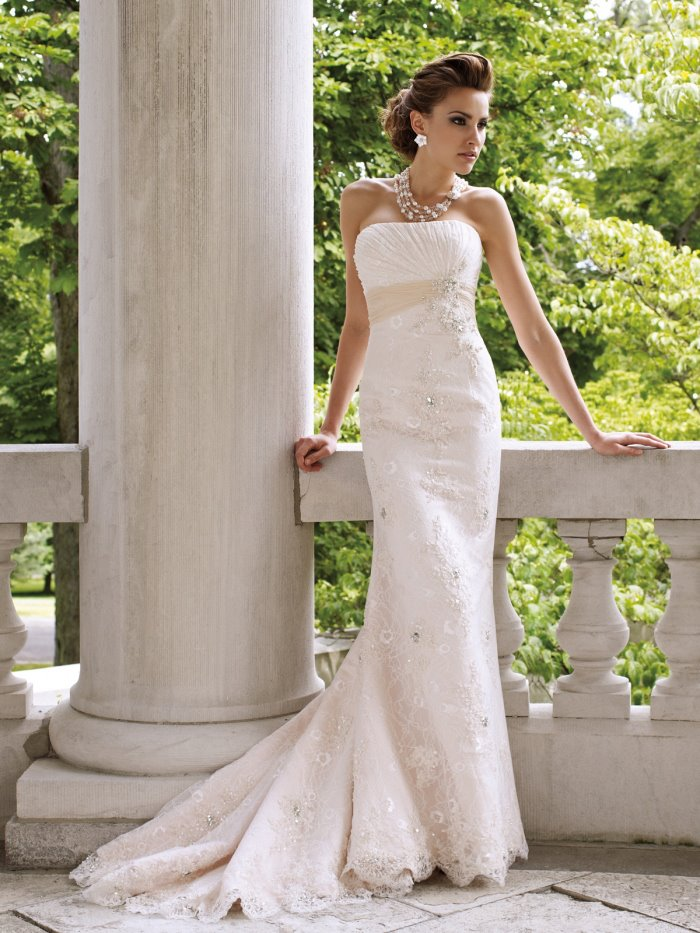 2016 wedding dresses and trends david tutera for mon for David tutera beach wedding dresses