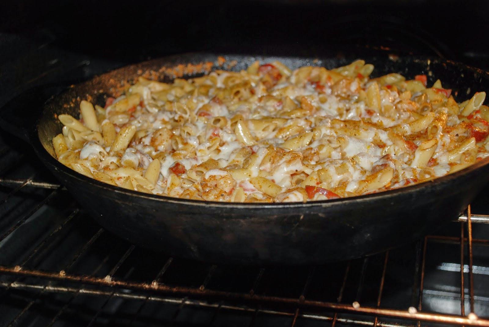Cajun Sausage & Shrimp Pasta