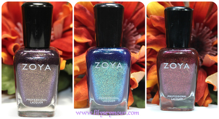 Zoya 2014 Fall Collection Nail Polishes