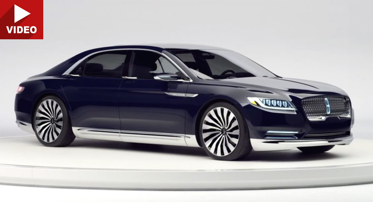 Lincoln's New Continental Concept Looks Very Bentley-ish