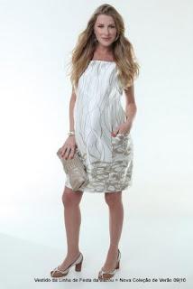vestido branco para gestante passar o reveillon