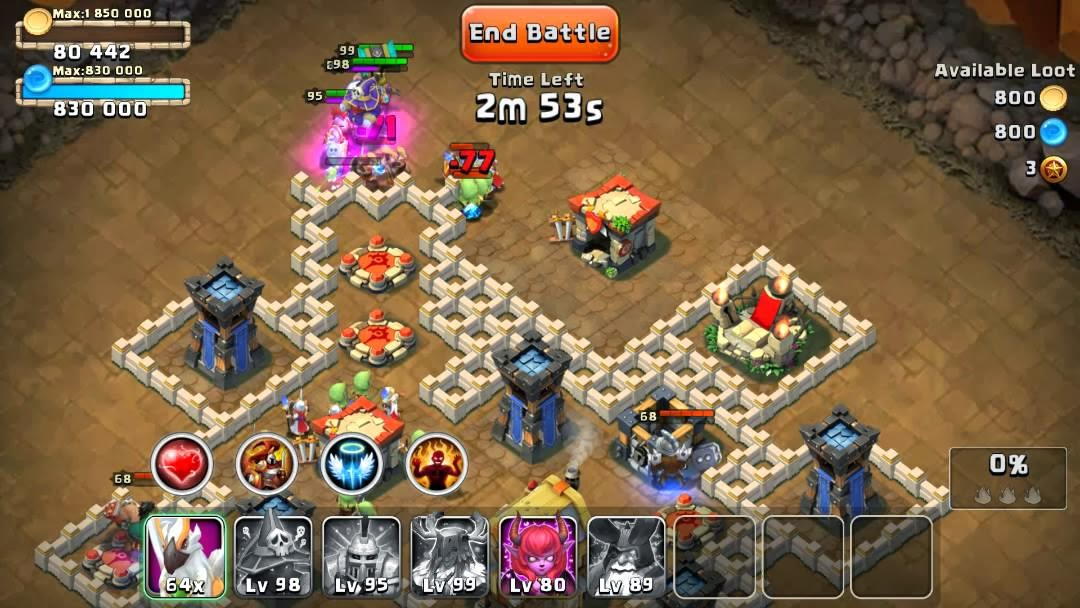 Castle Clash Android Gratuit APK