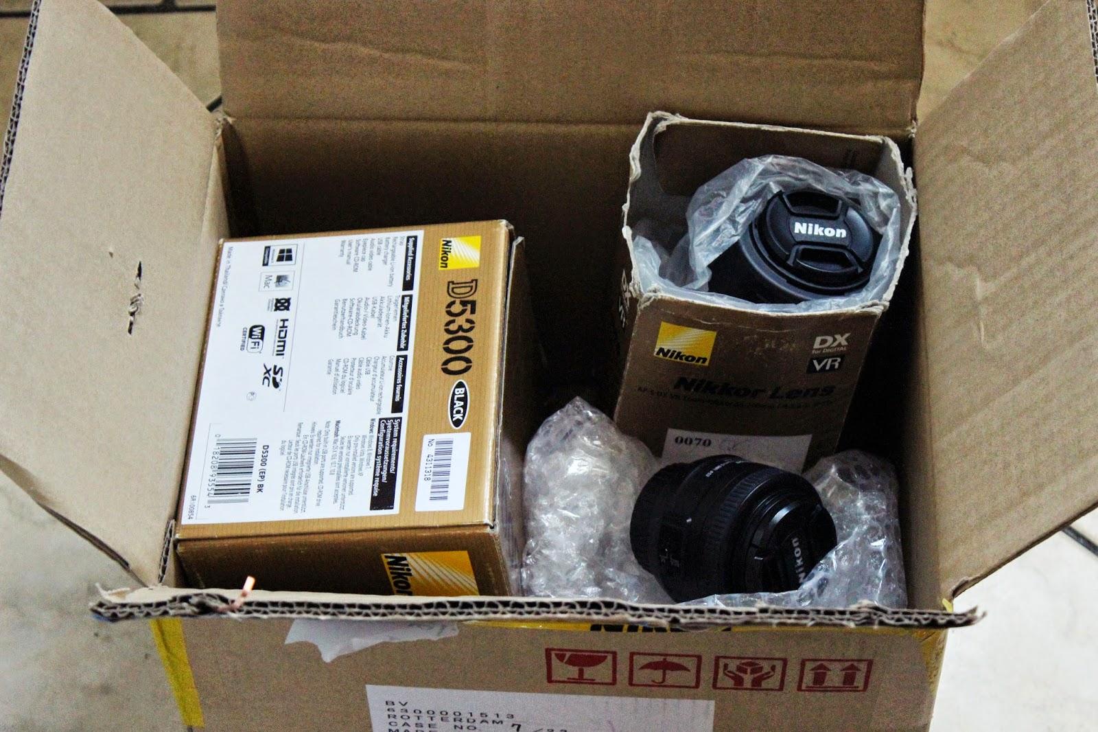JESTEM szczęściarzem - Jestem nowy Nikon D5300