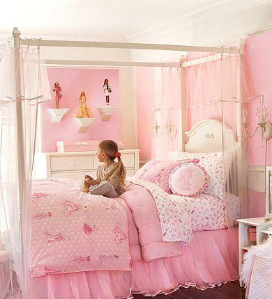 Habitaciones estilo princesa dormitorios con estilo - Como decorar habitaciones ...