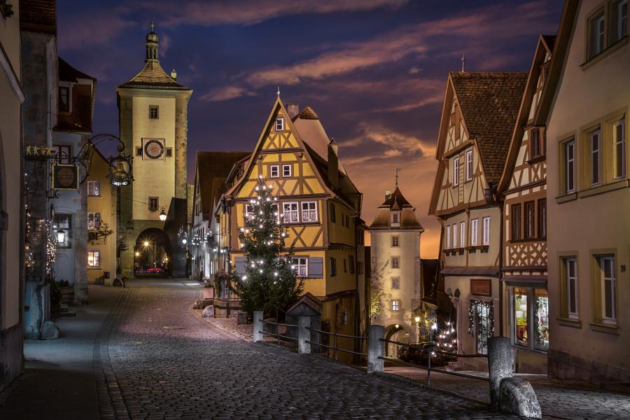 Let's travel the world!: Rothenburg ob der Tauber, Germany: A ...