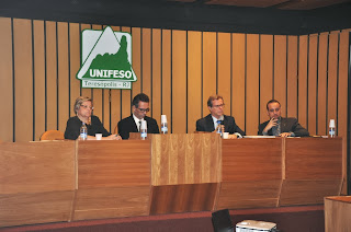 Ministros do TSE e Promotor de Justiça eleitoral participam de debate no UNIFESO Teresópolis