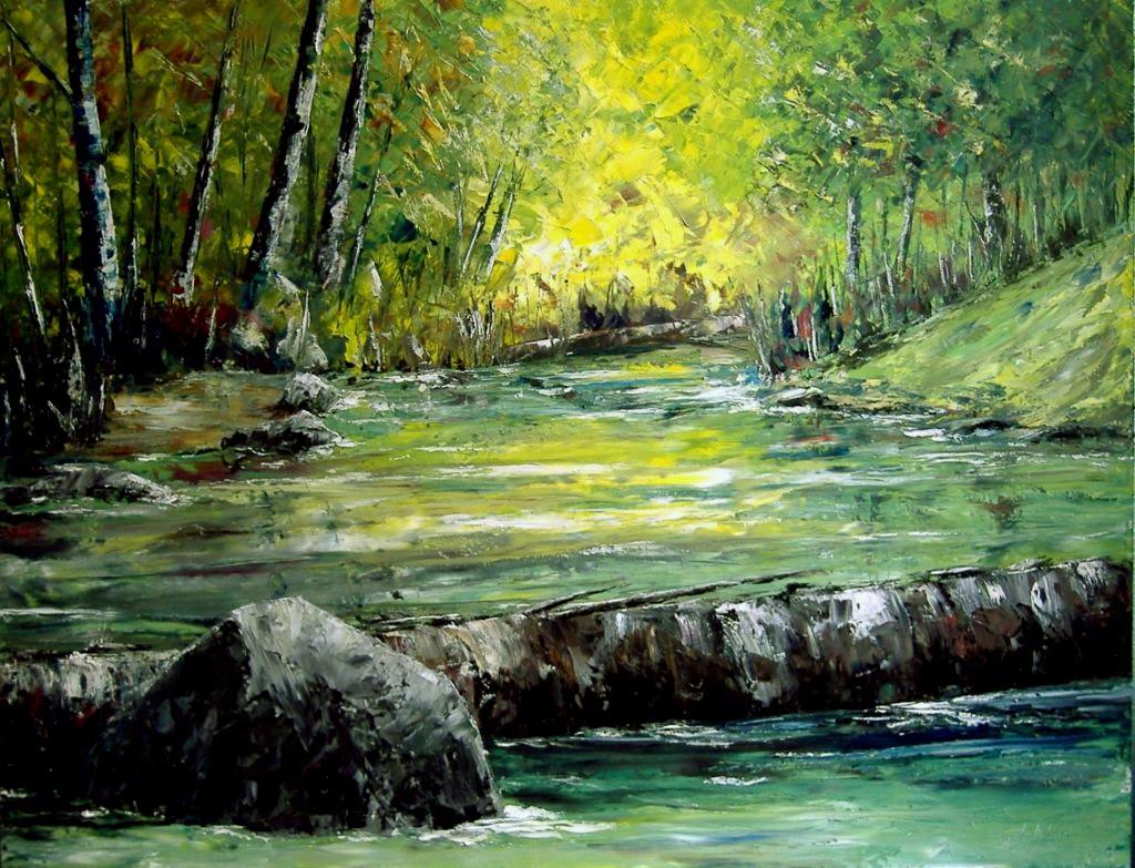 de las pinturas al oleo pronto veremos como pintar paisajes al oleo
