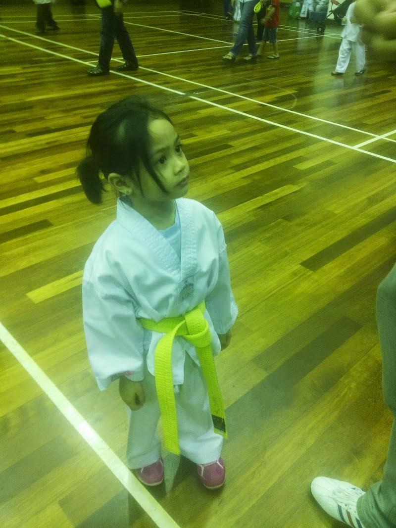 Alisha di taekwaondo Championship
