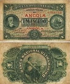UM ESCUDO, BANCO NACIONAL ULTRAMARINO