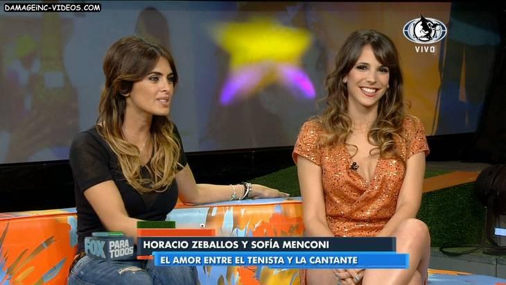 Sofia Menconi sexy cleavage in HD video