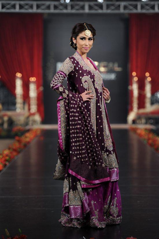 Pakistani bridal lehnga 2012