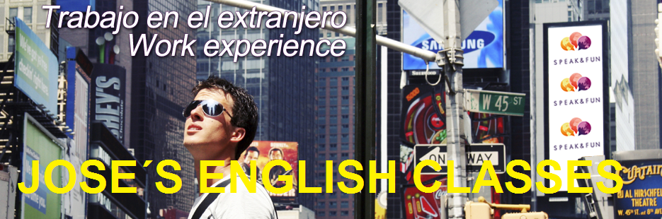 JOSE´S ENGLISH CLASSES