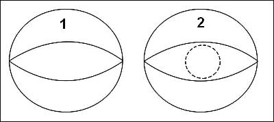 """bentuk menyerupai 'kelopak mata"""" (actually, lebih mirip kepada vagina ..."""