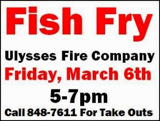 3-6 Fish Fry At Ulysses Fire Hall