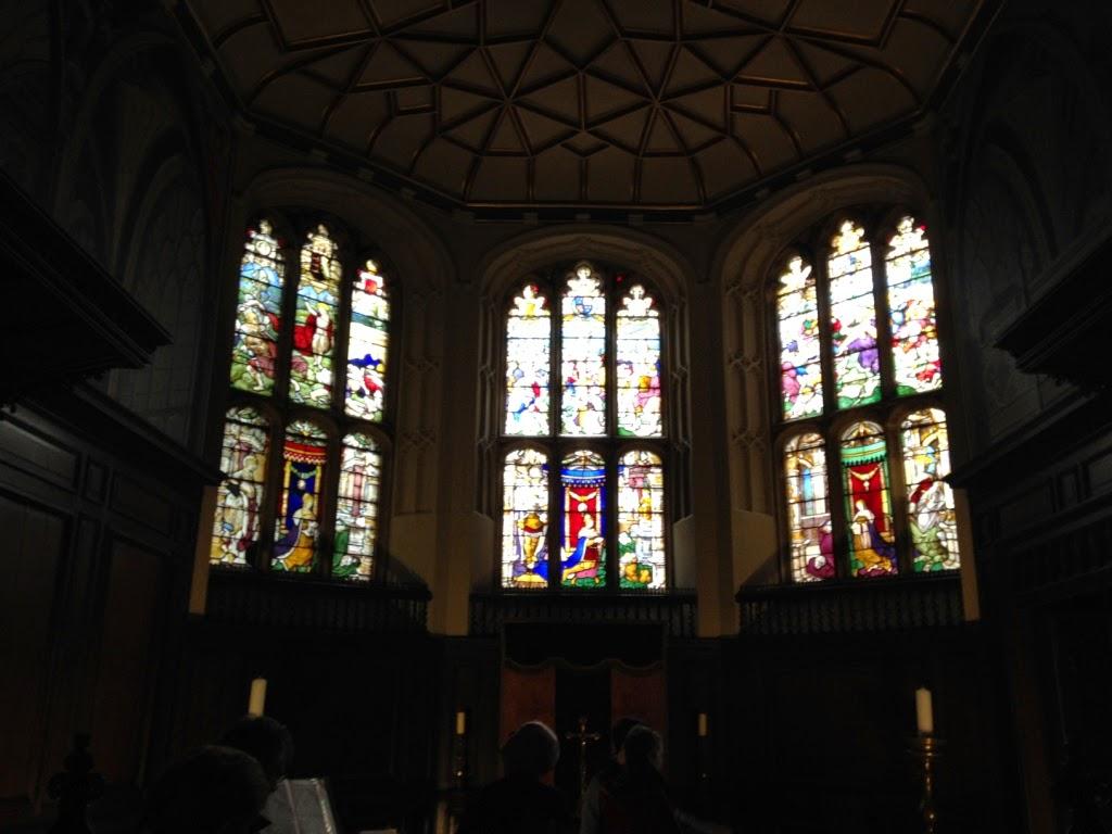 The Vyne chapel