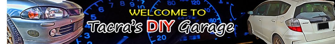 welcome to tacra's diy garage