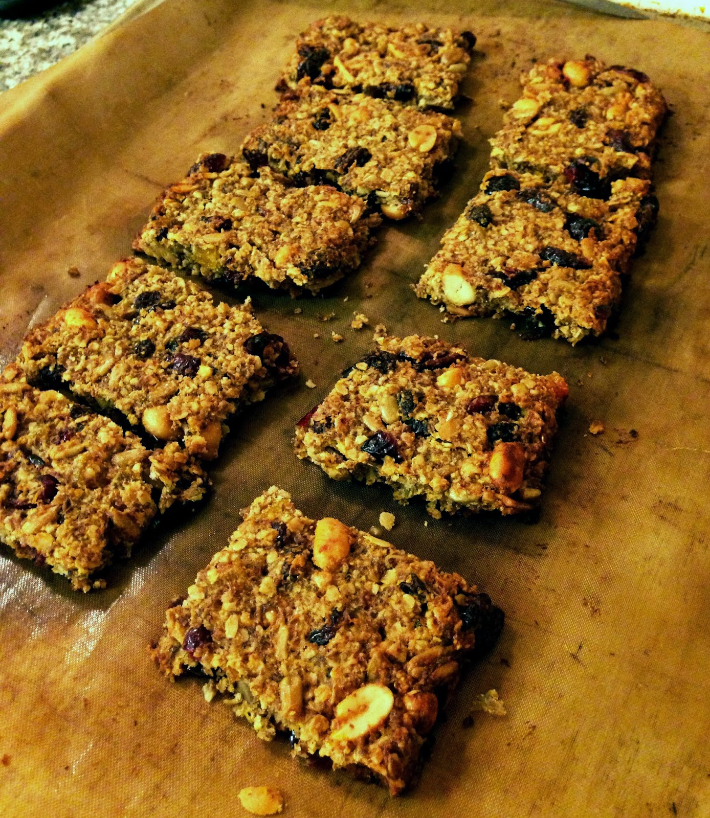 Muesli Trail Mix Bars