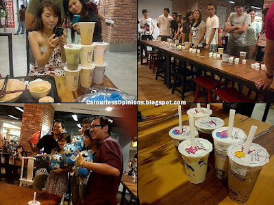 Chatime Eat Food Village Publika Solaris Dutamas Nuffnang ChurpChurp #ChurpOut Event 2011