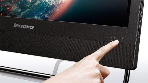 колонки и кнопка вкл моноблока Lenovo ThinkCentre E63z