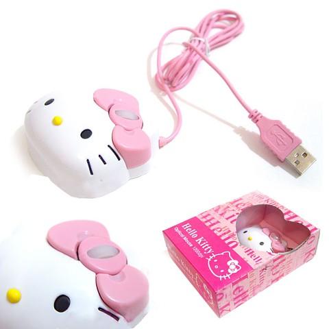 Ini mouse hello kitty, lucu kan :3 mau deh huehehehe. tapi agak susah ...