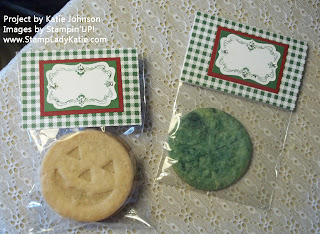 Cookie Gift Bags from the Christmas Open House in Stoughton